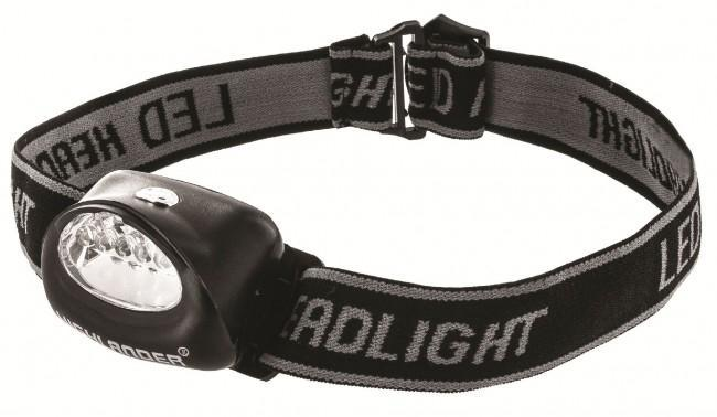 Highlander 'Fornax' 5 LED Headtorch-Highlander-Brodies Angling & Outdoors