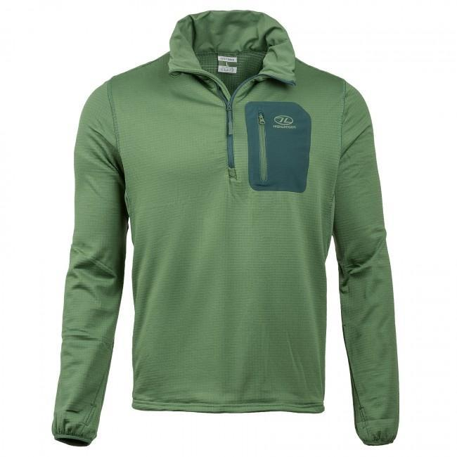 Highlander 'Jura' Mid-Layer Fleece Top-Highlander-Brodies Angling & Outdoors
