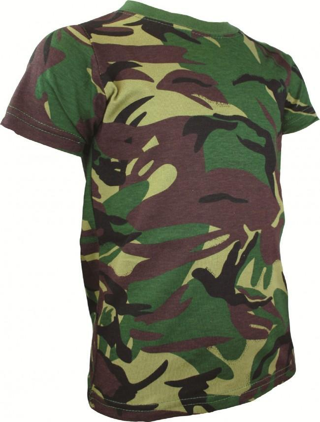 Highlander Kids Cotton Military/Army T-Shirts-Highlander-Brodies Angling & Outdoors