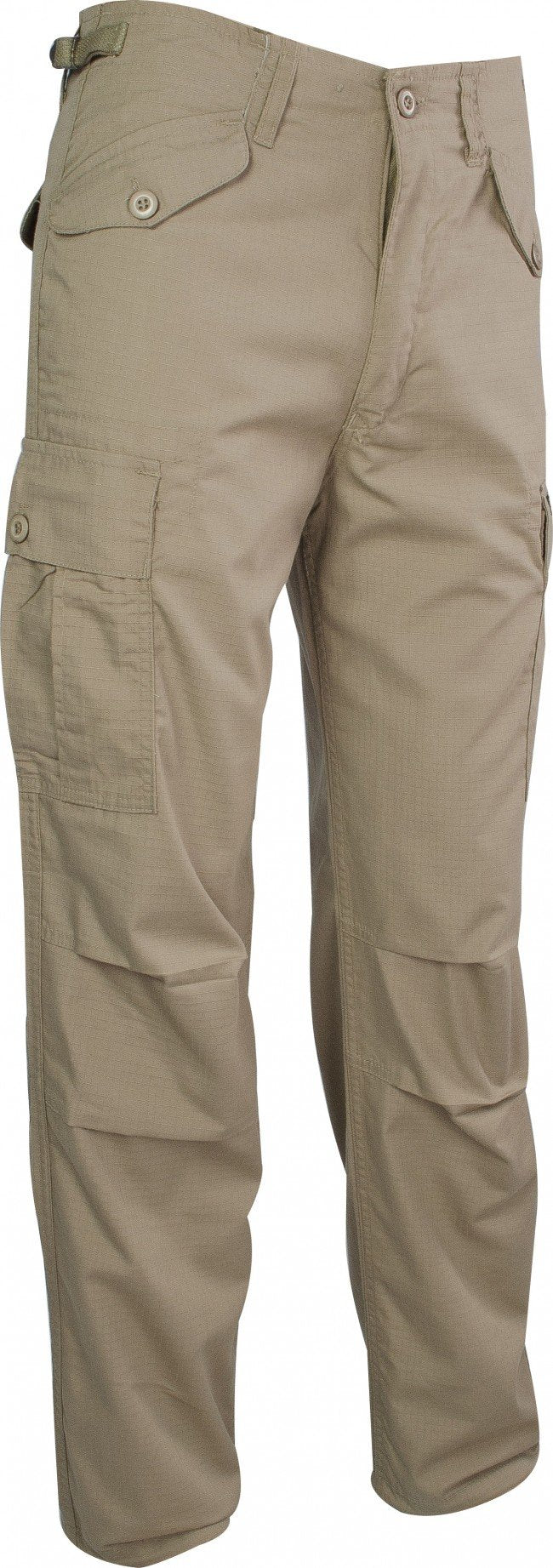Highlander 'M65' Rip-Stop Cotton Combat Trousers-Highlander-Brodies Angling & Outdoors