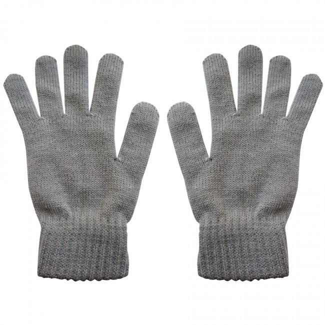 Highlander 'Merino' Wool Knit Gloves (Charcoal Grey)-Highlander-Brodies Angling & Outdoors