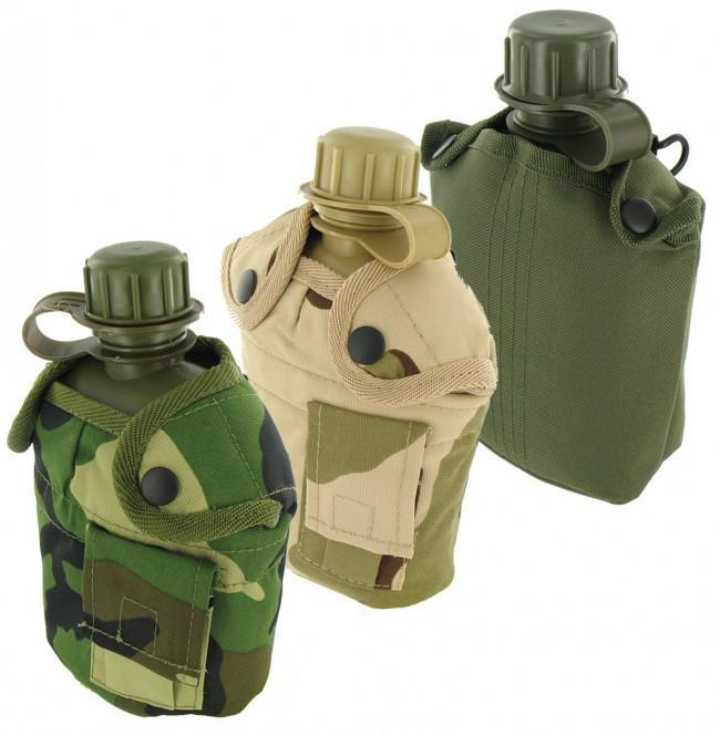 Highlander 'Patrol' 950ml Military Water Bottle / Canteen-Highlander-Brodies Angling & Outdoors