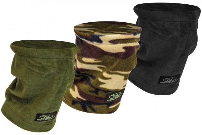 Highlander Polar Fleece Military Neck Warmer-Highlander-Brodies Angling & Outdoors