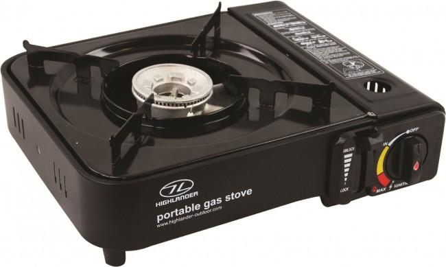 Highlander Portable Gas Stove-Highlander-Brodies Angling & Outdoors