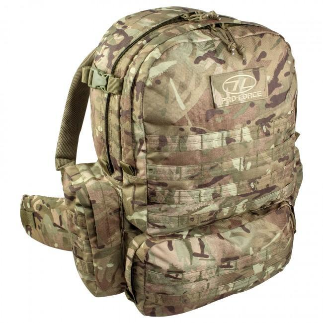 Highlander 'Pro-Force M50' Military/Tactical Rucksack (MOLLE)-Highlander-Brodies Angling & Outdoors