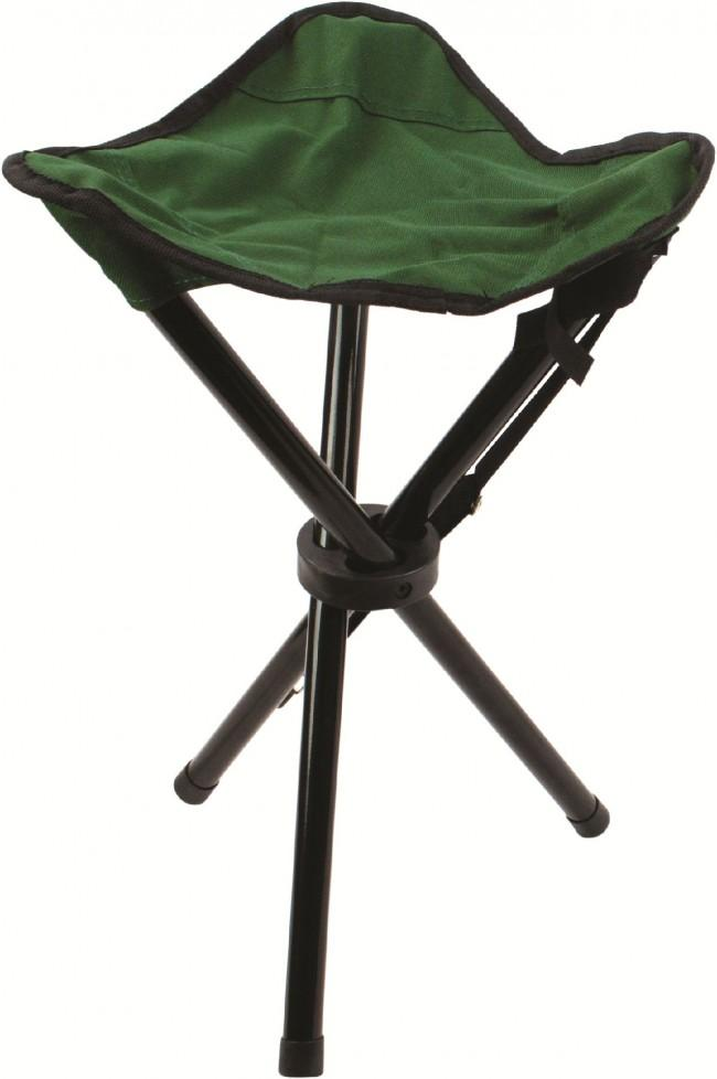 Highlander Steel Tripod Stool-Highlander-Brodies Angling & Outdoors