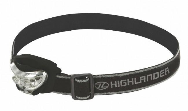Highlander 'Vision' 2+1 Headtorch-Highlander-Brodies Angling & Outdoors