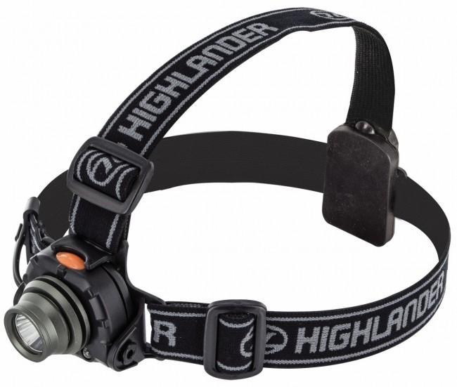 Highlander 'Wave' 3 Watt Headtorch-Highlander-Brodies Angling & Outdoors