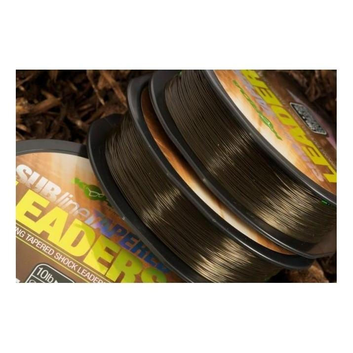 Korda Subline Tapered Leaders-Korda-Brodies Angling & Outdoors