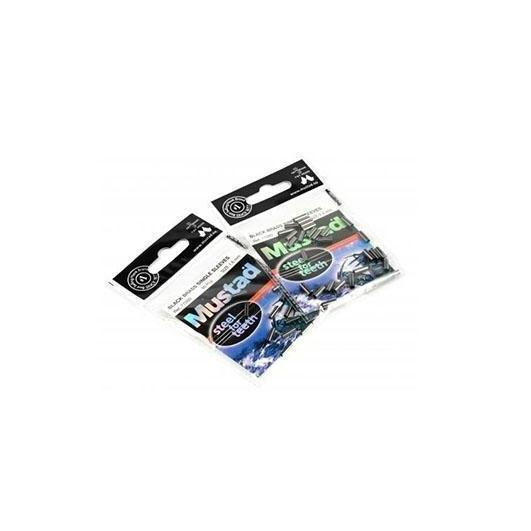 Mustad Black Brass Sleeve-Mustad-Brodies Angling & Outdoors