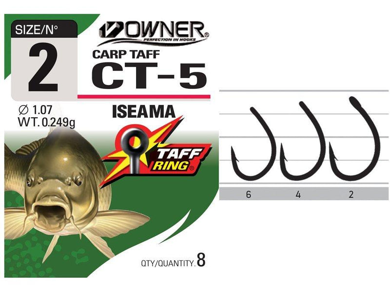 Owner Carp Hooks-Owner-Brodies Angling & Outdoors