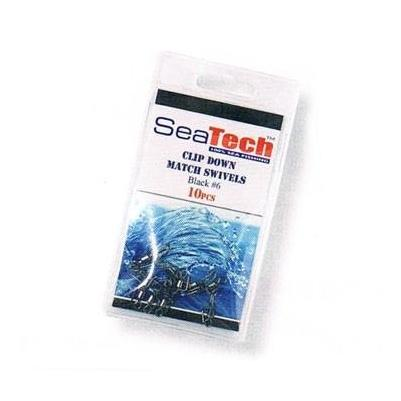 Sea Tech Clip Down Swivels-Sea Tech-Brodies Angling & Outdoors