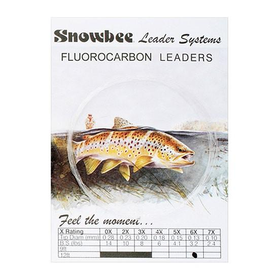 Snowbee Fluorocarbon Leaders-Snowbee-Brodies Angling & Outdoors