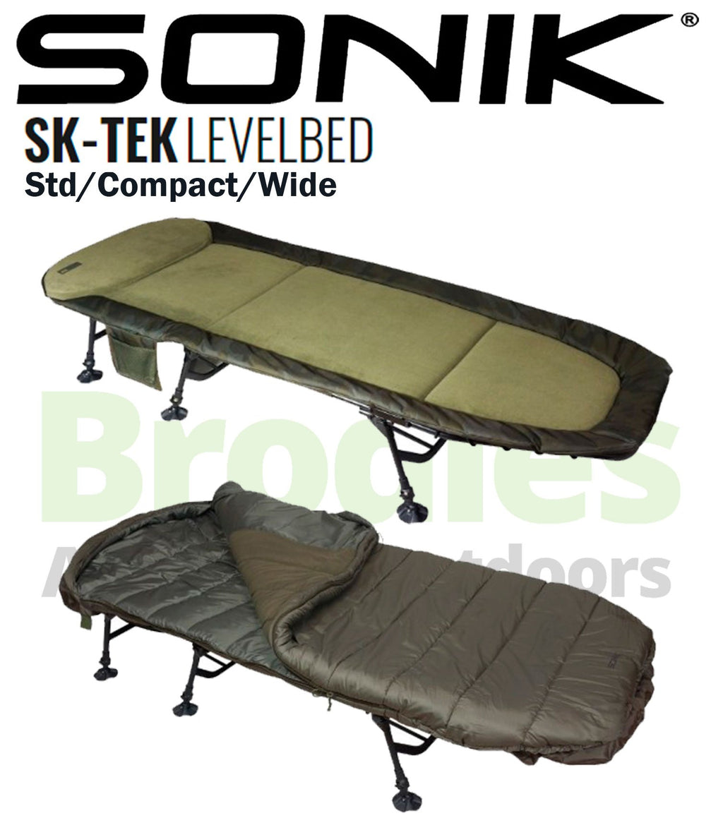 Sonik SK-TEK Levelbed Compact-Sonik-Brodies Angling & Outdoors