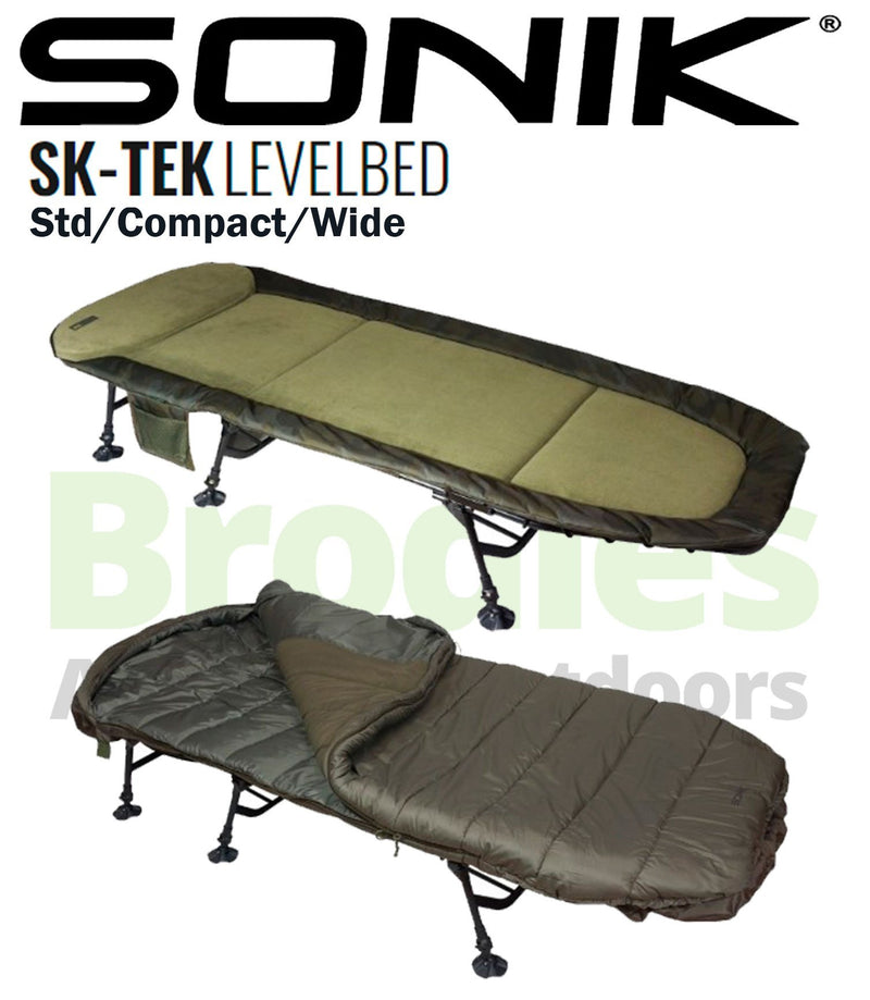 Sonik SK-TEK Levelbed Wide-Sonik-Brodies Angling & Outdoors