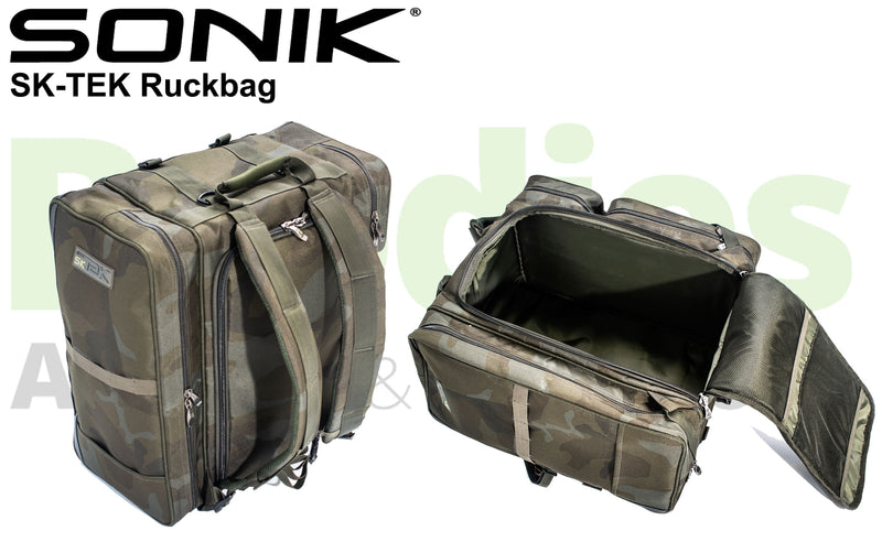 Sonik SK-TEK Ruckbag-Sonik-Brodies Angling & Outdoors