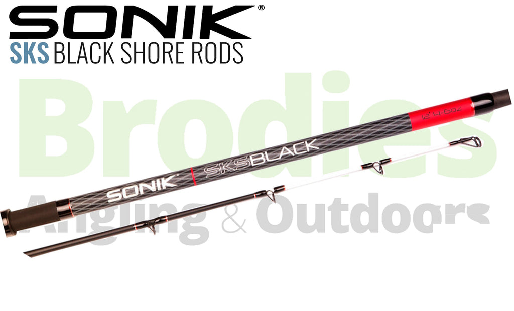 Sonik SKS Black Shore Rods-Sonik-Brodies Angling & Outdoors