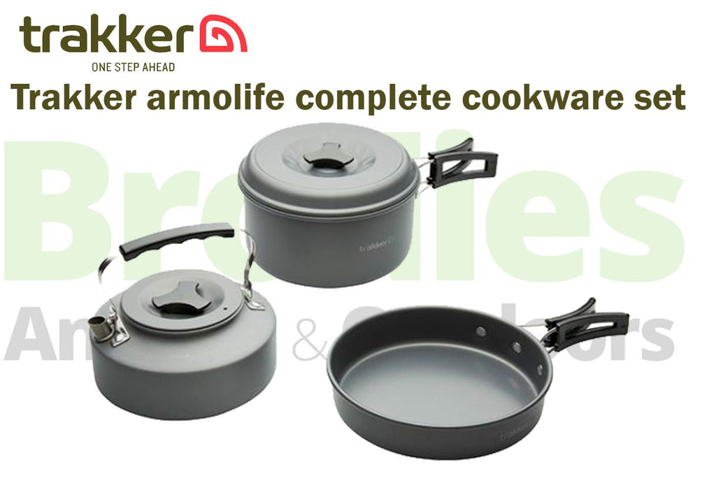Trakker Armolife Complete Cookware Set-Trakker-Brodies Angling & Outdoors