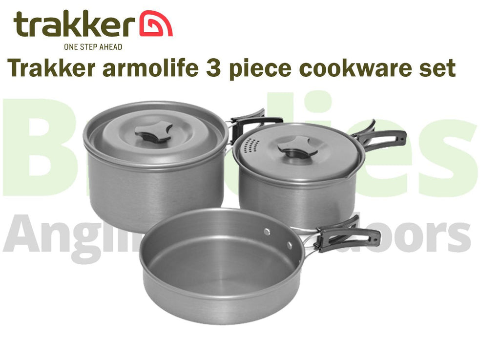 Trakker Armolife Cookware Set- 3 Piece-Trakker-Brodies Angling & Outdoors