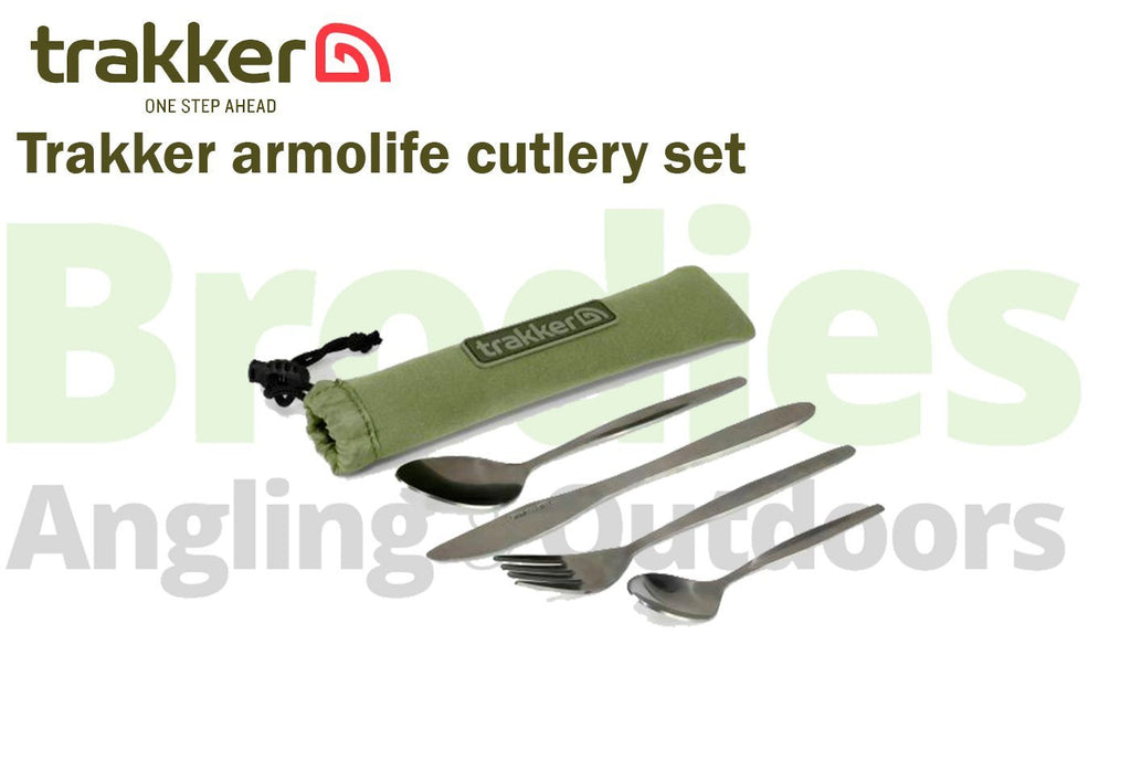 Trakker Armolife Cutlery Set-Trakker-Brodies Angling & Outdoors