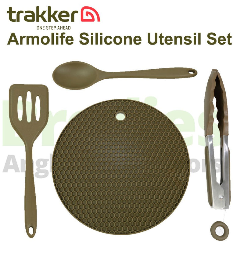Trakker Armolife Silicone Utensil Set-Trakker-Brodies Angling & Outdoors