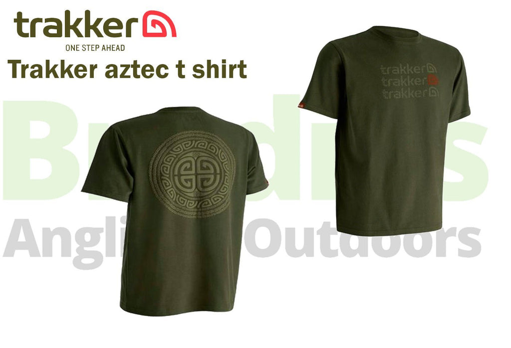 Trakker Aztec T-Shirts-Trakker-Brodies Angling & Outdoors