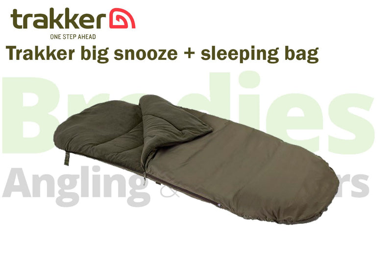 Trakker Big Snooze+ Sleeping Bag (Standard/Compact/Wide)-Trakker-Brodies Angling & Outdoors