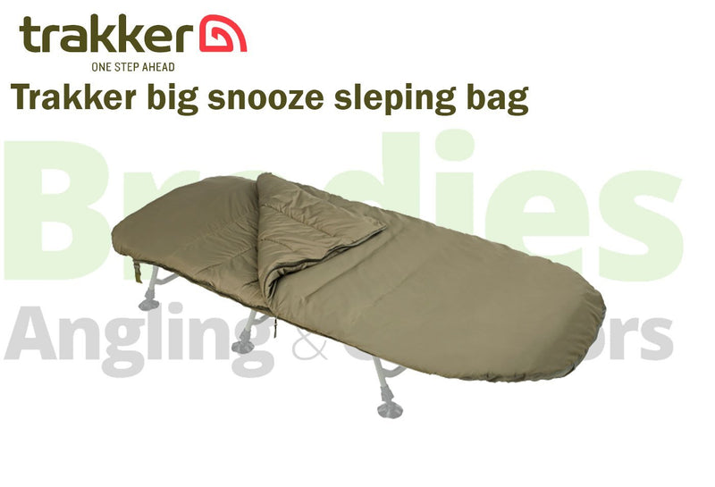 Trakker Big Snooze + Smooth Sleeping Bag-Trakker-Brodies Angling & Outdoors
