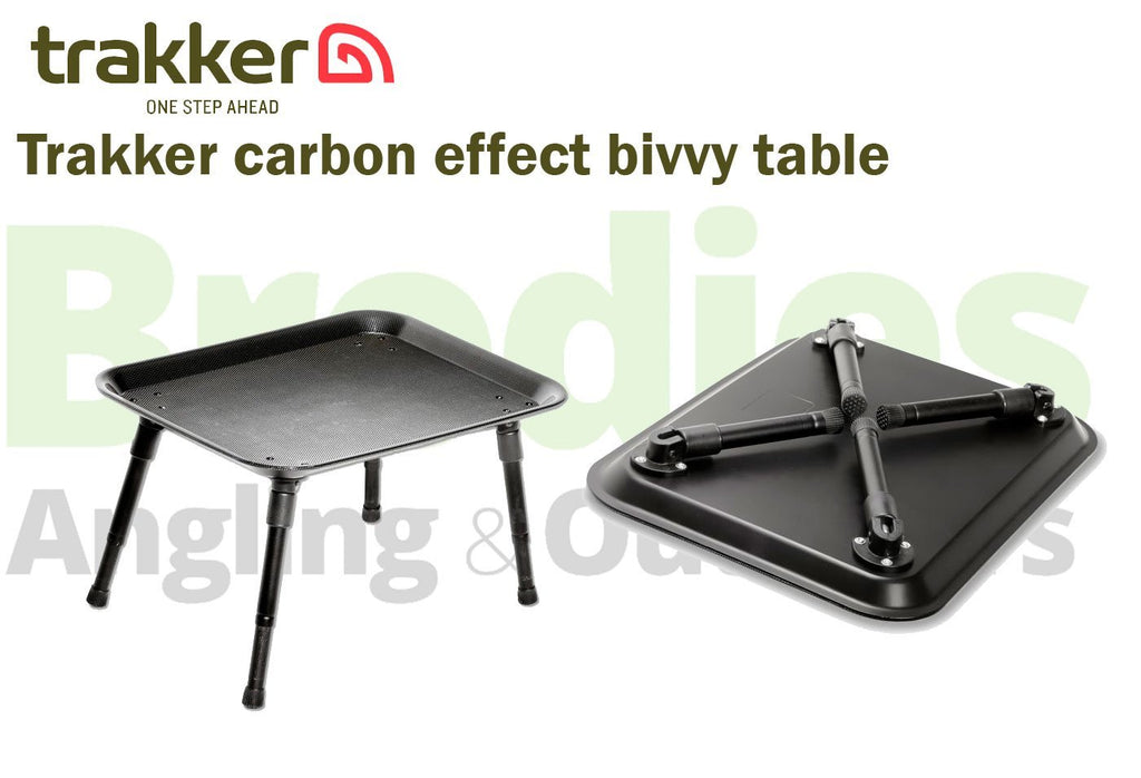 Trakker Carbon Effect Bivvy Table-Trakker-Brodies Angling & Outdoors