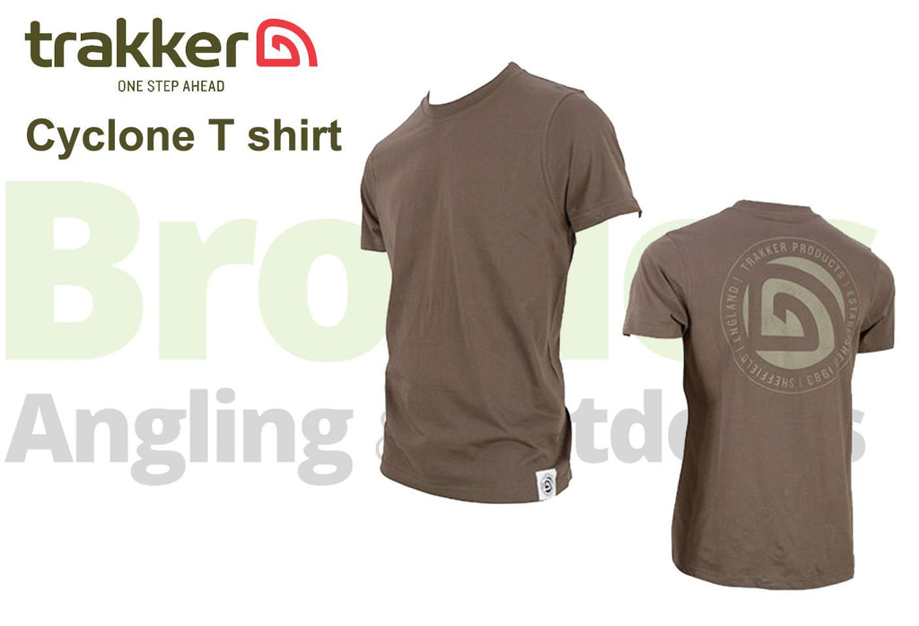 Trakker Cyclone T-Shirts-Trakker-Brodies Angling & Outdoors