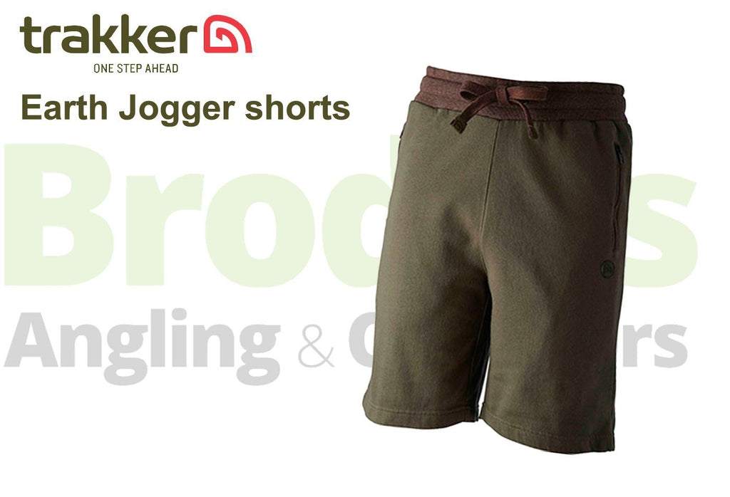 Trakker Earth Jogger Shorts-Trakker-Brodies Angling & Outdoors