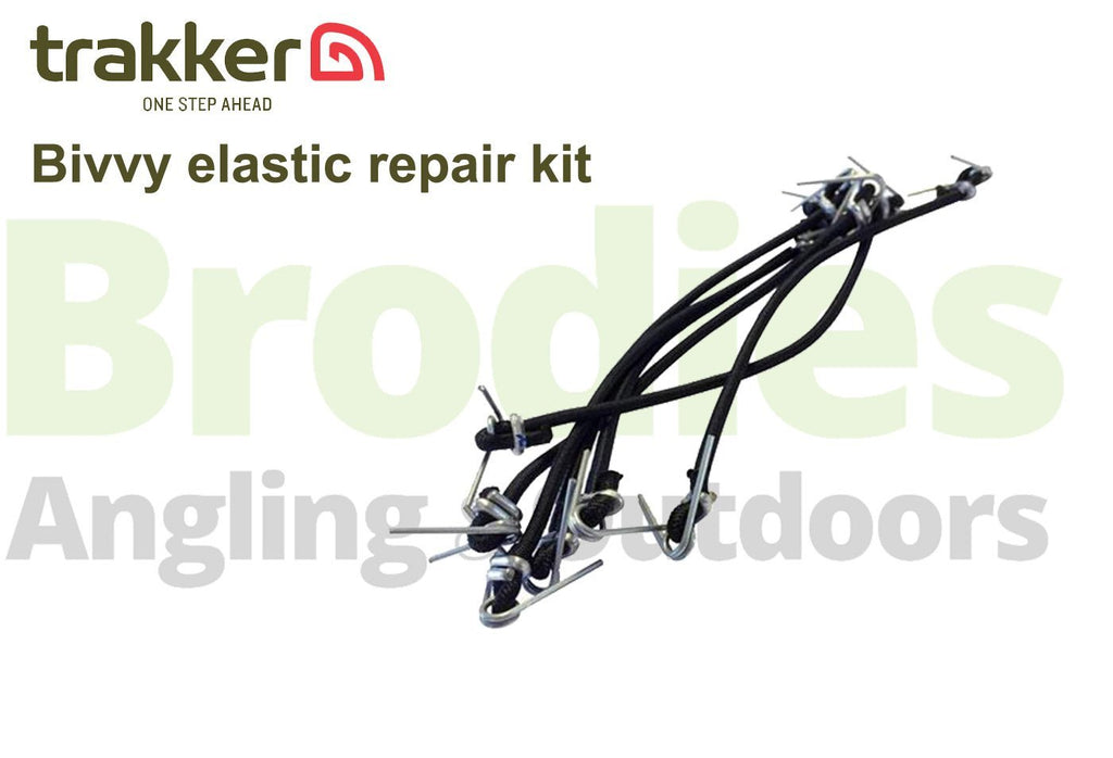 Trakker Elastic repair kit (6 pieces)-Trakker-Brodies Angling & Outdoors
