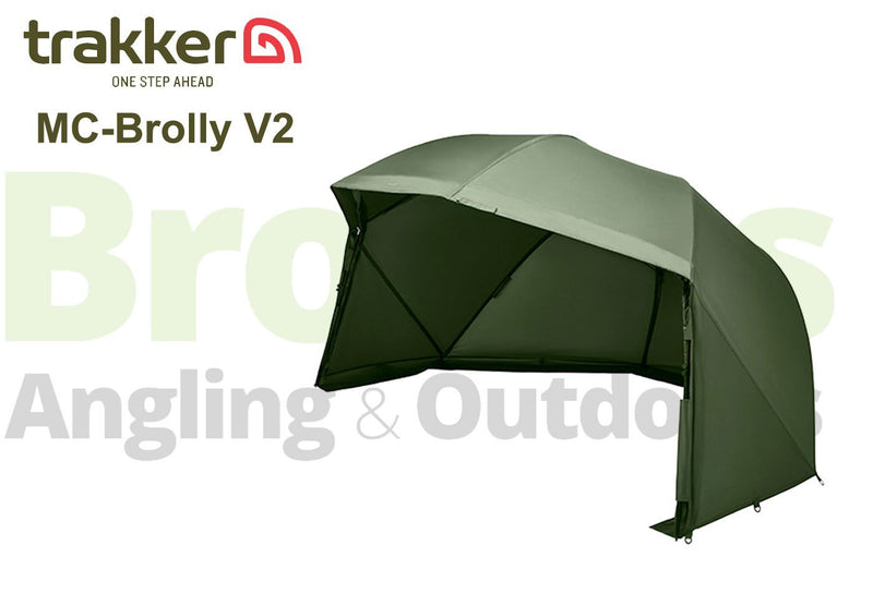 Trakker MC-60 v2 Brolly & Extras-Trakker-Brodies Angling & Outdoors