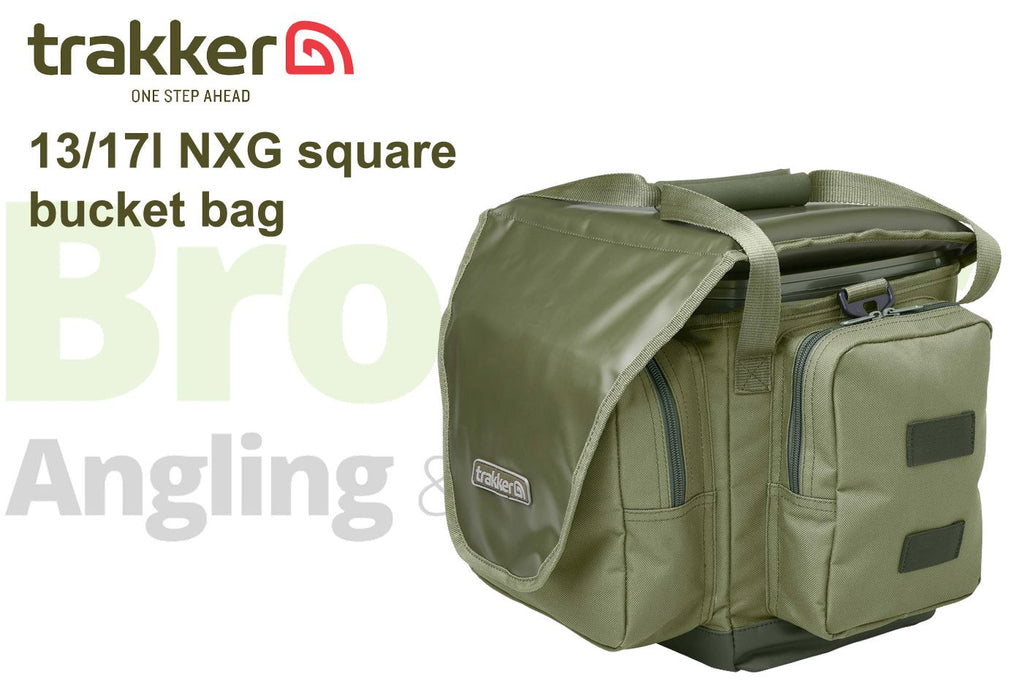 Trakker NXG 13/17 Ltr Square Bucket Bag-Trakker-Brodies Angling & Outdoors