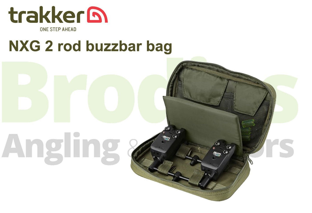 Trakker NXG 2 Rod Buzzer Bar Bag-Trakker-Brodies Angling & Outdoors