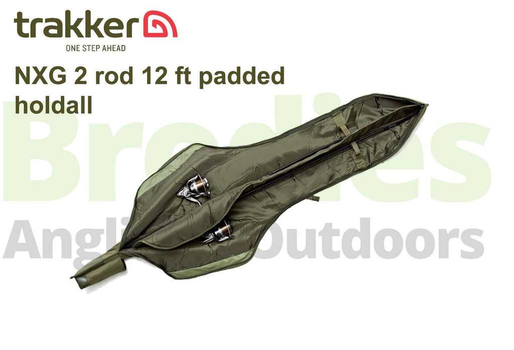 Trakker NXG 2 Rod Padded Sleeve 12 foot-Trakker-Brodies Angling & Outdoors