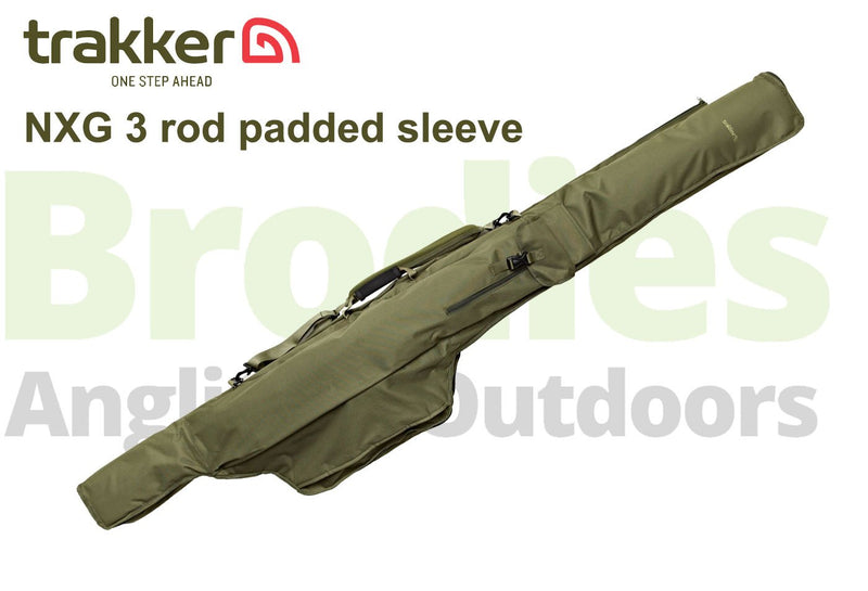 Trakker NXG 3 Rod Padded Sleeves-Trakker-Brodies Angling & Outdoors