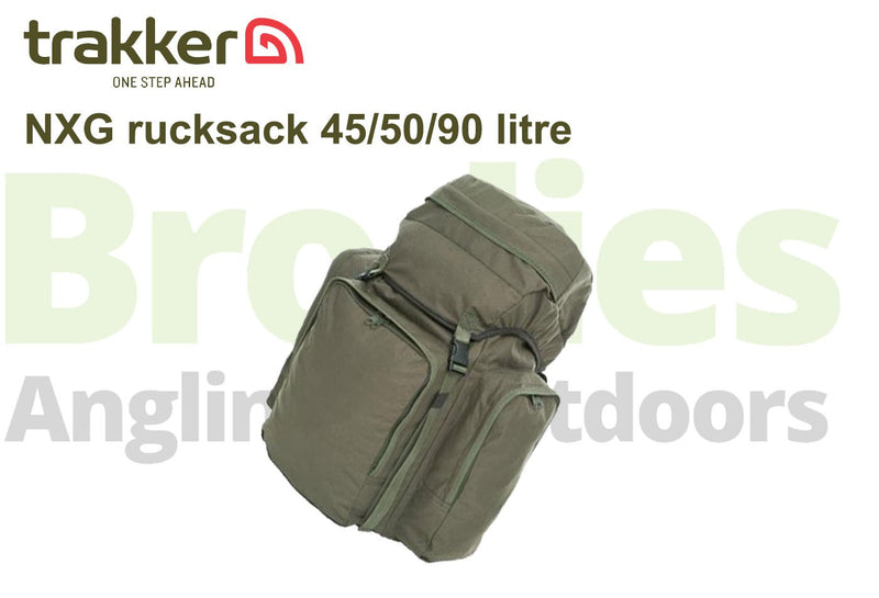 Trakker NXG 45/50/90 Ltr Rucksacks-Trakker-Brodies Angling & Outdoors