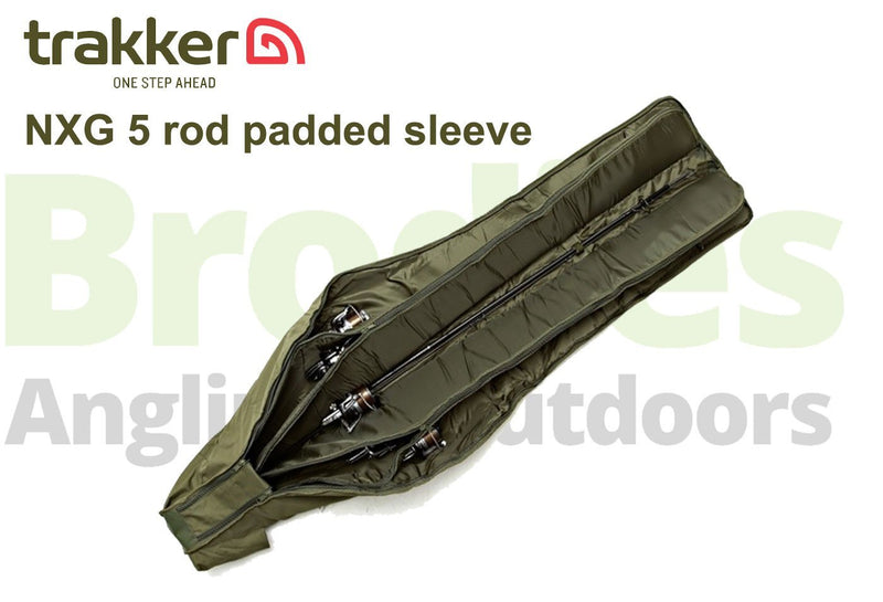 Trakker NXG 5 Rod Padded Sleeve 12 foot-Trakker-Brodies Angling & Outdoors
