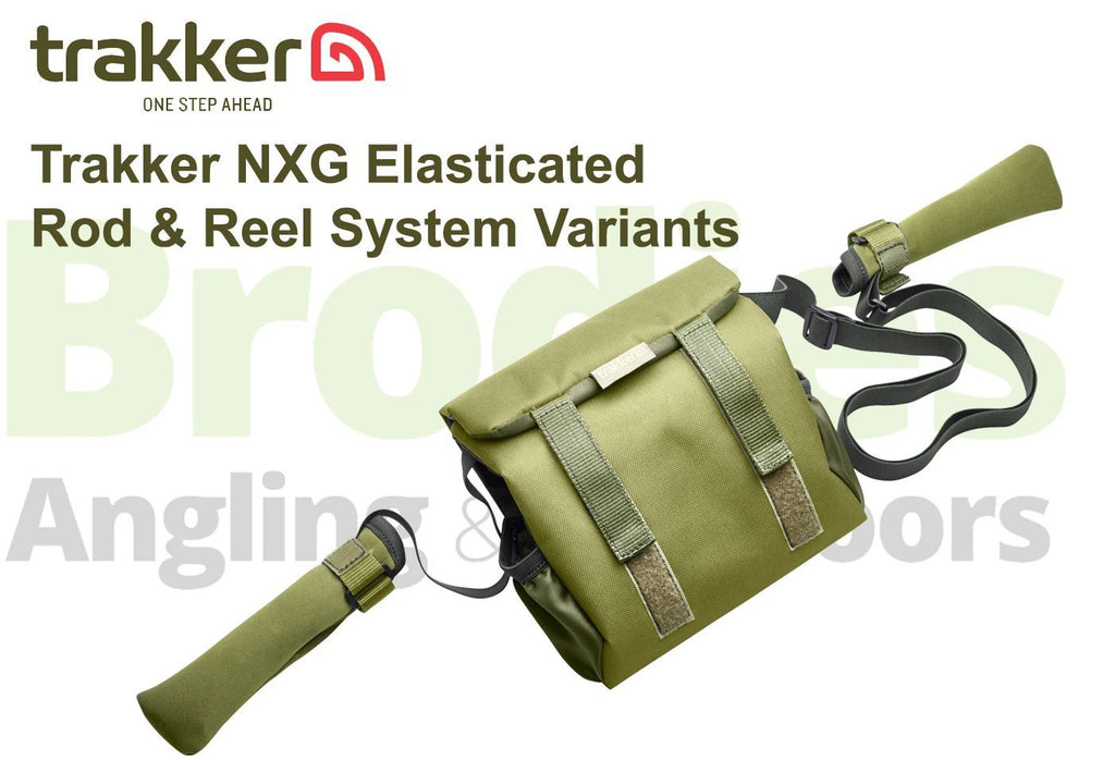 Trakker NXG Elasticated Rod & Reel System-Trakker-Brodies Angling & Outdoors