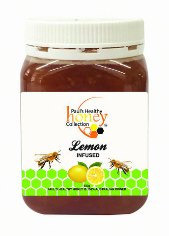 Paul's Healthy Honey - Lemon Infused
