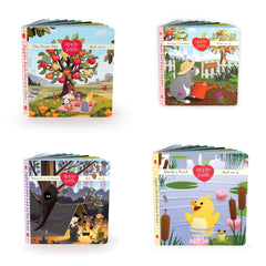 Apple Park Book 1 - 4 Collection - Bocky & Moo