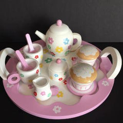 Indigo Jamm Flower Tea Set - Bocky & Moo