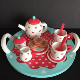 Indigo Jamm Hearts Tea Set - Bocky & Moo