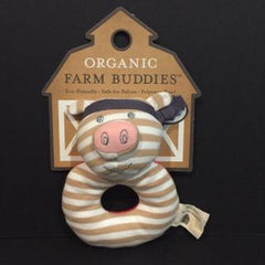 Apple Park Organic Farm Buddies - Pork Chop Pig - Bocky & Moo