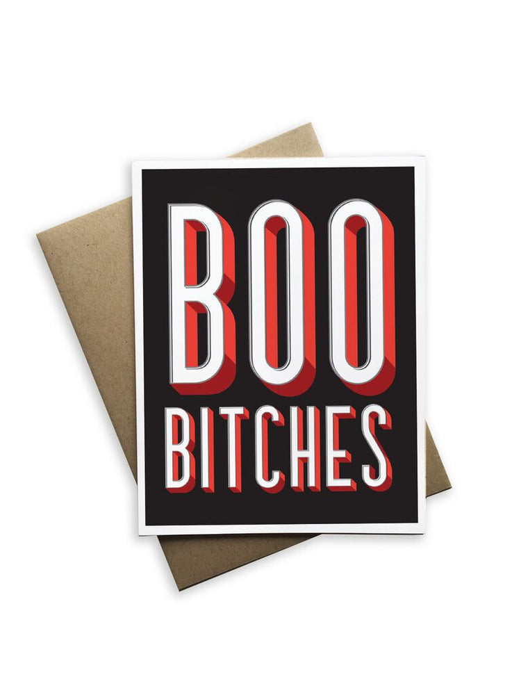 Boo Bitches Notecard