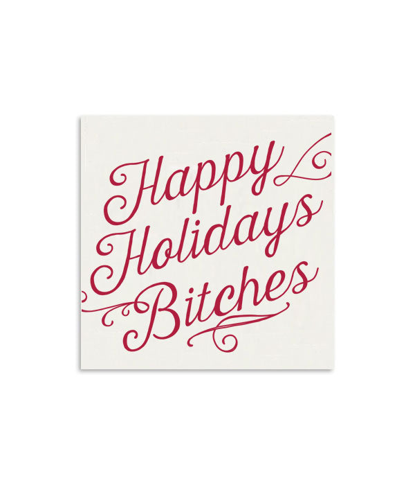 Happy Holiday Bitches Mini Notecard