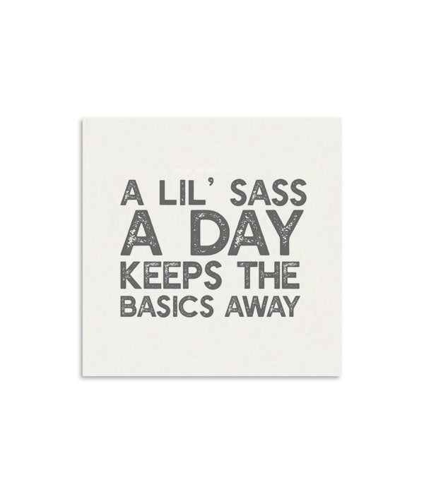 A Lil' Sass A Day Mini Notecard