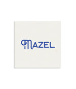 Mazel Mini Notecard