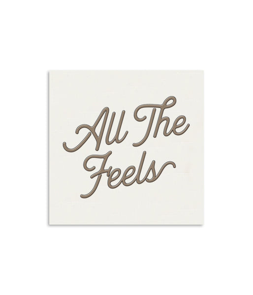 All The Feels Mini Notecard